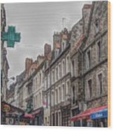 A Street In Boulogne Wood Print