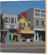 A Street In Perrysburg I Wood Print