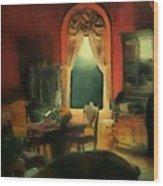 A Study In Scarlet Wood Print