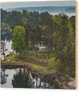 A Summer Retreat Wood Print