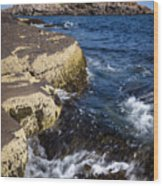A Summer's Day At Nubble Light, York, Maine  -67969 Wood Print
