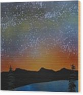 A Summer's Eve At Lake Tahoe Wood Print