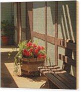 A Sunny Spot Wood Print
