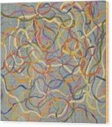 A Tangled Web Wood Print