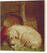 A Terrier Wood Print