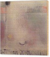 A Thought Of Stillness  Wood Print