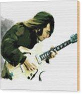 A Time It Was John Lennon Wood Print