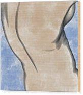 A Torso Wood Print