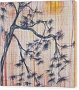 A Touch Of Aisa Wood Print