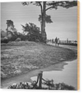A Tree Stands Tall Wood Print