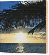 A Tropical Sensation Wood Print
