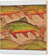 A Trout Lovers Dream Wood Print by Terry Mulligan