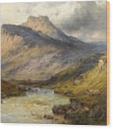 A Trout Stream Near Stirling Wood Print
