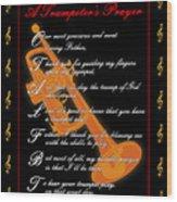 A Trumpeters Prayer_1 Wood Print by Joe Greenidge