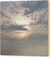 A Turner Sky Over Assawoman Bay Wood Print