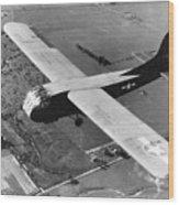 A U.s. Army Air Force Waco Cg-4a Glider Wood Print by Stocktrek Images