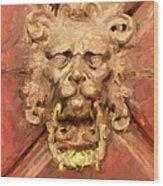 A Venetian Welcome Wood Print
