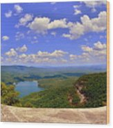 A View From Table Rock South Carolina Wood Print