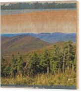 Equinox Mountain, Vermont.             Wood Print