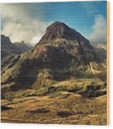 A View Of Glencoe. Wood Print