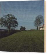 A View Of Mount Vernon, The Home Wood Print