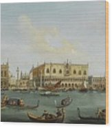 A View Of The Bacino Di San Marco Wood Print