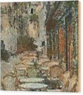 A View On The Sacre Coeur Wood Print