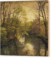 A Vintage Spring Wood Print