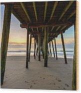 A Virginia Beach Morning Wood Print