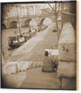 A Walk Through Paris 1 Wood Print