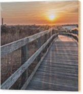 A Walk To The Sun Wood Print