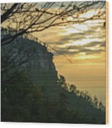 A Warm Autumn Morning Wood Print
