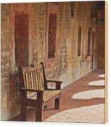A Warm Welcome, Mission San Juan Capistrano, California Wood Print