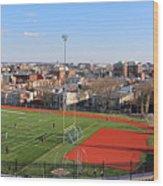 A Washington View From Cardoza High School Wood Print