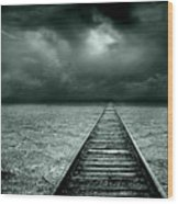 A Way Out Wood Print