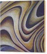 A Web Of Lies Wood Print
