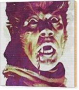 A Werewolf In London Wood Print