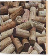A Wine Lovers Dream Wood Print