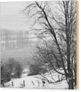 A Wintry Day Wood Print