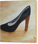 A Woman's Love Wood Print