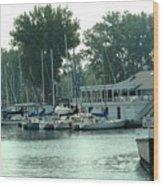 A Yacht Club Wood Print