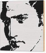 A Young Elvis Wood Print