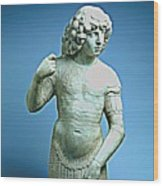 A Young Warrior, Tullio Lombardo Poster 2 Wood Print