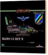 A4-c Skyhawk Vsf Wood Print