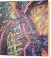 Aaliah Wood Print