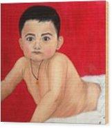Aaryan Wood Print