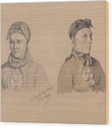 Aase Rasmusdatter Stranden And Anna Troelsdatter Kittelsviken Wood Print