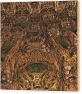 Abandon All Hope Ye Who Enter Here Wood Print