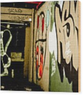 Abandoned And Grunge Wood Print