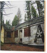Abandoned Asterisk Logo Poster Wood Print